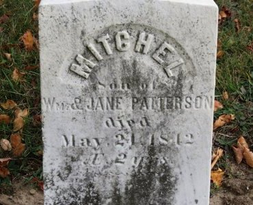 PATTERSON, JANE - Ashland County, Ohio | JANE PATTERSON - Ohio Gravestone Photos
