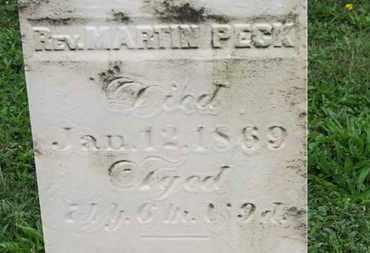 PECK, MARTIN - Ashland County, Ohio | MARTIN PECK - Ohio Gravestone Photos