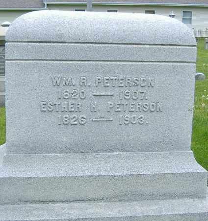 PETERSON, ESTHER HANNA - Ashland County, Ohio | ESTHER HANNA PETERSON - Ohio Gravestone Photos