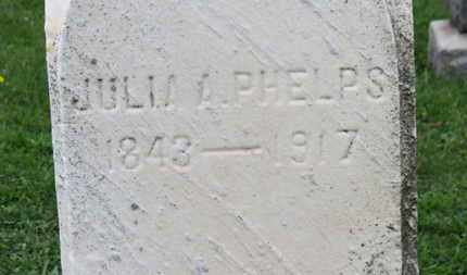 PHELPS, JULIA A. - Ashland County, Ohio | JULIA A. PHELPS - Ohio Gravestone Photos