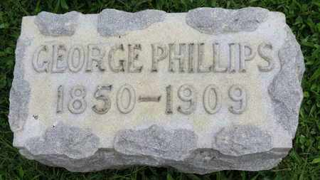 PHILLIPS, GEORGE - Ashland County, Ohio | GEORGE PHILLIPS - Ohio Gravestone Photos