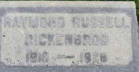 RICKENBROD, RAYMOND RUSSELL - Ashland County, Ohio | RAYMOND RUSSELL RICKENBROD - Ohio Gravestone Photos