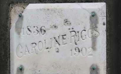 RIGGS, CAROLINE - Ashland County, Ohio | CAROLINE RIGGS - Ohio Gravestone Photos