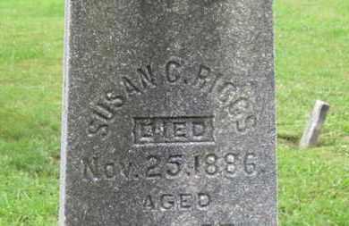 RIGGS, SUSAN C. - Ashland County, Ohio | SUSAN C. RIGGS - Ohio Gravestone Photos