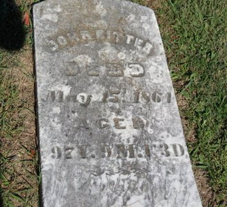 RITTER, JOHN - Ashland County, Ohio | JOHN RITTER - Ohio Gravestone Photos