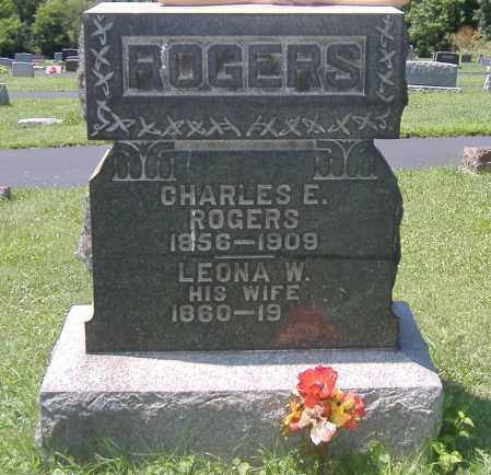 ROGERS, LEONA - Ashland County, Ohio | LEONA ROGERS - Ohio Gravestone Photos