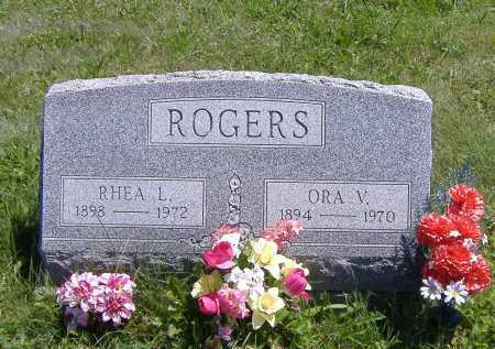 ROGERS, ORA V. - Ashland County, Ohio | ORA V. ROGERS - Ohio Gravestone Photos