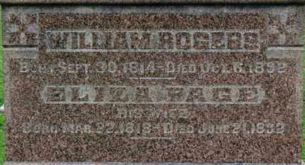 ROGERS, WILLIAM - Ashland County, Ohio | WILLIAM ROGERS - Ohio Gravestone Photos