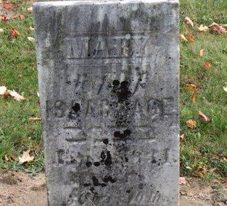 SAGE, MARY - Ashland County, Ohio | MARY SAGE - Ohio Gravestone Photos