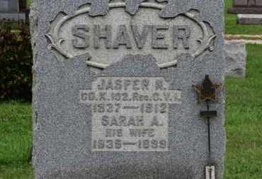 SHAVER, SARAH A. - Ashland County, Ohio | SARAH A. SHAVER - Ohio Gravestone Photos