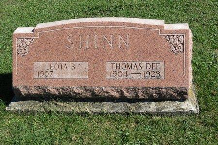 SHINN, THOMAS D. - Ashland County, Ohio | THOMAS D. SHINN - Ohio Gravestone Photos