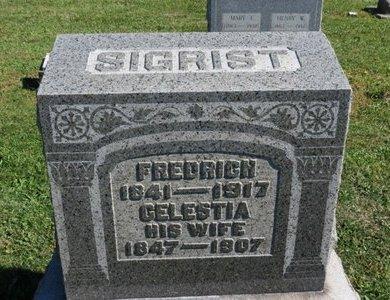 SIGRIST, CELESTIA - Ashland County, Ohio   CELESTIA SIGRIST - Ohio Gravestone Photos