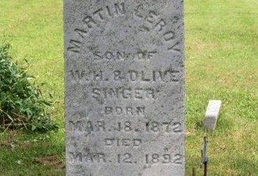 SINGER, MARTIN LEROY - Ashland County, Ohio   MARTIN LEROY SINGER - Ohio Gravestone Photos