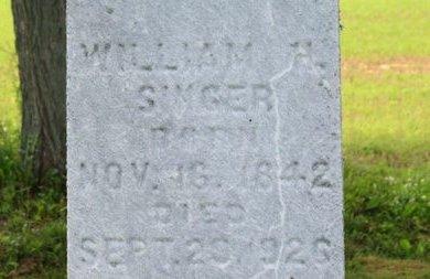 SINGER, WILLIAM H. - Ashland County, Ohio | WILLIAM H. SINGER - Ohio Gravestone Photos