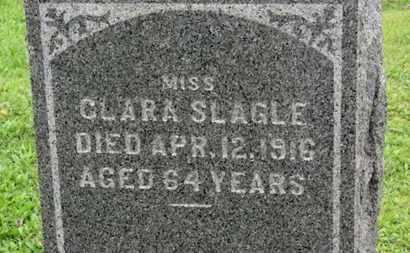 SLAGLE, CLARA - Ashland County, Ohio | CLARA SLAGLE - Ohio Gravestone Photos
