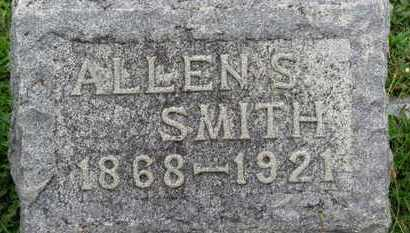 SMITH, ALLEN S. - Ashland County, Ohio | ALLEN S. SMITH - Ohio Gravestone Photos