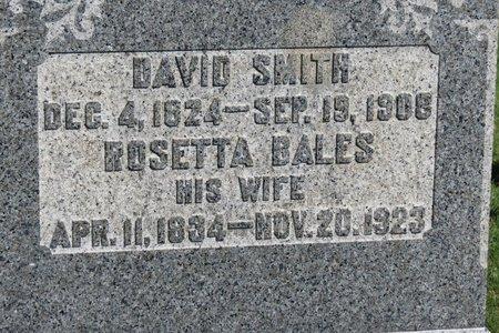 BALES SMITH, ROSETTA - Ashland County, Ohio | ROSETTA BALES SMITH - Ohio Gravestone Photos