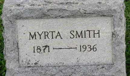 SMITH, MYRTA - Ashland County, Ohio | MYRTA SMITH - Ohio Gravestone Photos