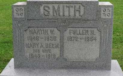 BEEM SMITH, MARY A. - Ashland County, Ohio | MARY A. BEEM SMITH - Ohio Gravestone Photos