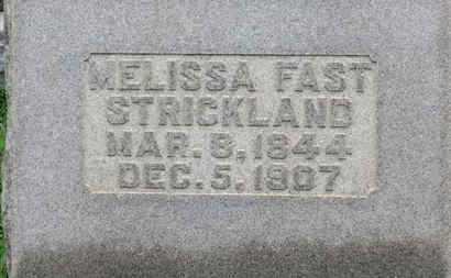 STRICKLAND, MELISSA - Ashland County, Ohio | MELISSA STRICKLAND - Ohio Gravestone Photos