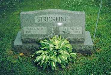 WOLFE STRICKLING, EVELYN M. - Ashland County, Ohio | EVELYN M. WOLFE STRICKLING - Ohio Gravestone Photos