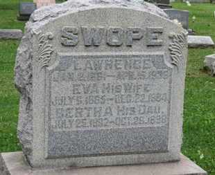 SWOPE, LAWRENCE - Ashland County, Ohio | LAWRENCE SWOPE - Ohio Gravestone Photos