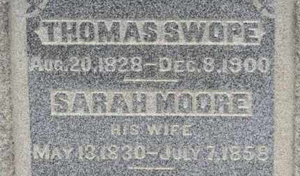 SWOPE, THOMAS - Ashland County, Ohio | THOMAS SWOPE - Ohio Gravestone Photos