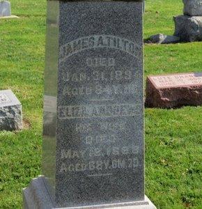 ANDREWS TILTON, ELIZA A. - Ashland County, Ohio | ELIZA A. ANDREWS TILTON - Ohio Gravestone Photos