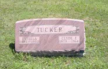 TUCKER, ESTELLA - Ashland County, Ohio | ESTELLA TUCKER - Ohio Gravestone Photos