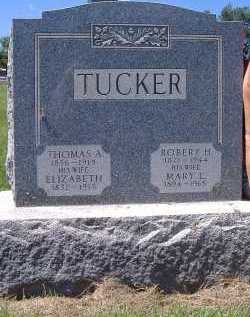 TUCKER, ELIZABETH - Ashland County, Ohio | ELIZABETH TUCKER - Ohio Gravestone Photos