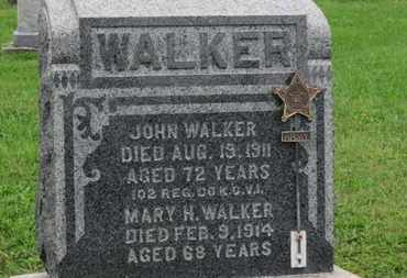 WALKER, JOHN - Ashland County, Ohio | JOHN WALKER - Ohio Gravestone Photos