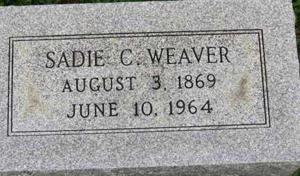 WEAVER, SADIE C. - Ashland County, Ohio | SADIE C. WEAVER - Ohio Gravestone Photos