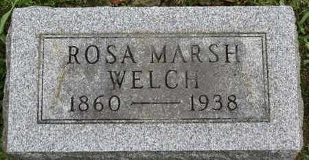 WELCH, ROSA - Ashland County, Ohio | ROSA WELCH - Ohio Gravestone Photos