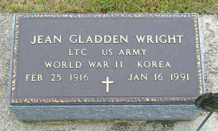 GLADDEN WRIGHT, LURETTA JEAN - Ashland County, Ohio | LURETTA JEAN GLADDEN WRIGHT - Ohio Gravestone Photos