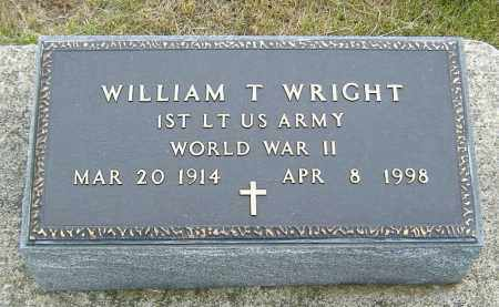 WRIGHT, WILLIAM T. - Ashland County, Ohio | WILLIAM T. WRIGHT - Ohio Gravestone Photos