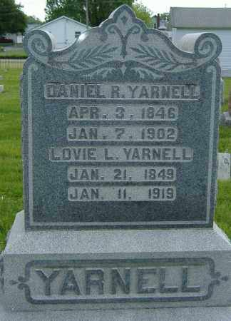 "YARNELL, LOVEZILLA L. ""LOVIE"" - Ashland County, Ohio 