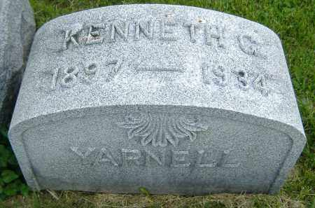 YARNELL, KENNETH G. - Ashland County, Ohio | KENNETH G. YARNELL - Ohio Gravestone Photos