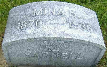 YARNELL, MINA B. - Ashland County, Ohio | MINA B. YARNELL - Ohio Gravestone Photos