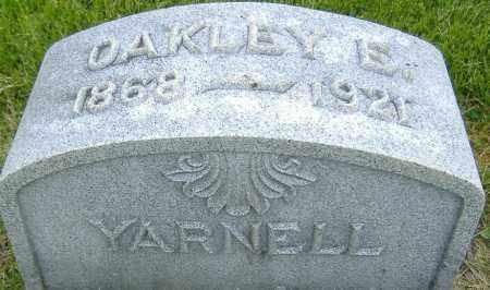 YARNELL, OAKLEY EBERHART - Ashland County, Ohio | OAKLEY EBERHART YARNELL - Ohio Gravestone Photos