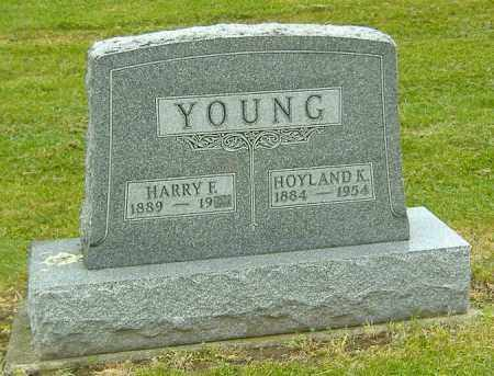 YOUNG, HARRY FORD - Ashland County, Ohio | HARRY FORD YOUNG - Ohio Gravestone Photos