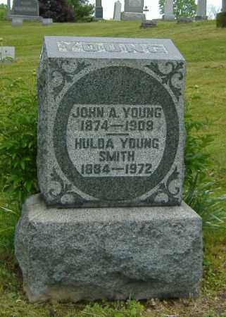 YOUNG SMITH, HULDA - Ashland County, Ohio | HULDA YOUNG SMITH - Ohio Gravestone Photos