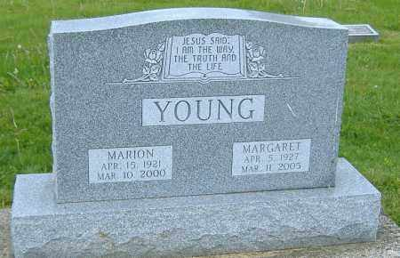YOUNG, MARION - Ashland County, Ohio | MARION YOUNG - Ohio Gravestone Photos