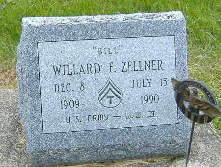 ZELLNER, WILLARD FRANCES - Ashland County, Ohio | WILLARD FRANCES ZELLNER - Ohio Gravestone Photos