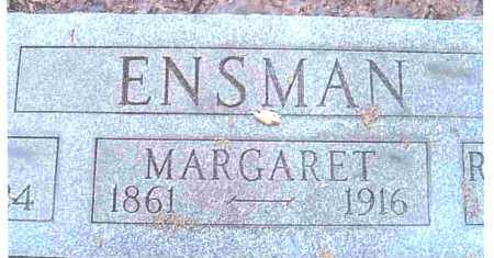 ENSMAN, MARGARET - Ashtabula County, Ohio | MARGARET ENSMAN - Ohio Gravestone Photos