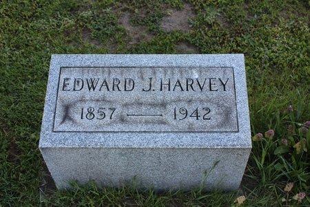 HARVEY, EDWARD J. - Ashtabula County, Ohio | EDWARD J. HARVEY - Ohio Gravestone Photos