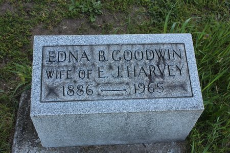 GOODWIN HARVEY, EDNA - Ashtabula County, Ohio | EDNA GOODWIN HARVEY - Ohio Gravestone Photos