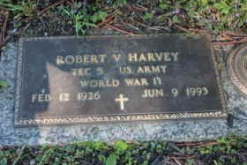 HARVEY, ROBERT VERN - Ashtabula County, Ohio | ROBERT VERN HARVEY - Ohio Gravestone Photos