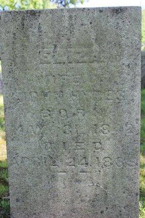 HYRES, ELIZA - Ashtabula County, Ohio | ELIZA HYRES - Ohio Gravestone Photos