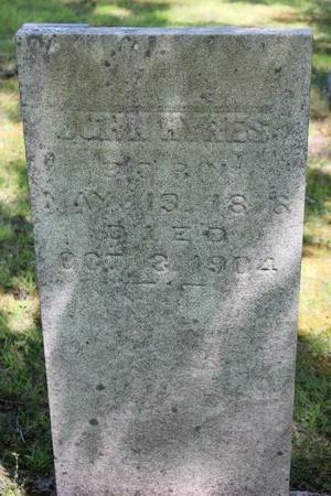 HYRES, JOHN - Ashtabula County, Ohio | JOHN HYRES - Ohio Gravestone Photos