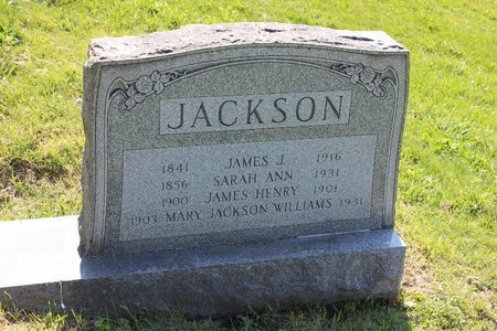 WILLIAMS JACKSON, MARY - Ashtabula County, Ohio | MARY WILLIAMS JACKSON - Ohio Gravestone Photos